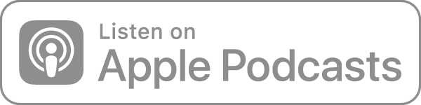 Listen on Apple podcasts icon in grey