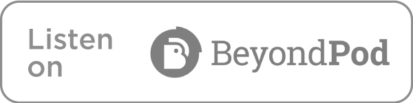 Listen on BeyondPod icon in grey