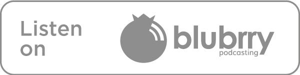 Listen on Blubrry icon in grey