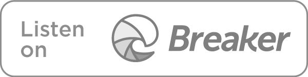 Listen on Breaker icon in grey