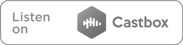 Listen on Castbox icon in grey