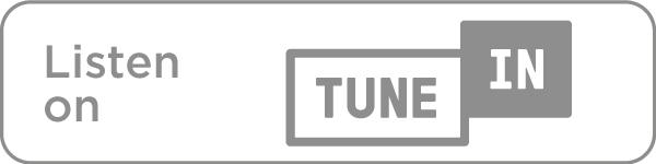 Listen on TuneIn icon in grey