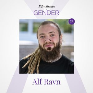 Podcast image with Alf Ravn