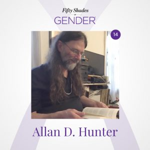 Podcast image with Allan D. Hunter