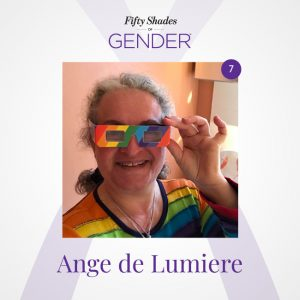 Podcast image with Ange de Lumiere