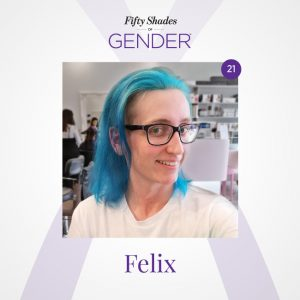Podcast image with Felix