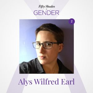 Podcast image with Alys Wilfred Earl