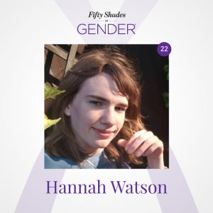 Podcast image with Hannah Watson
