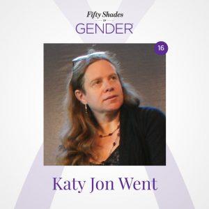 Podcast image with Katy Jon Went