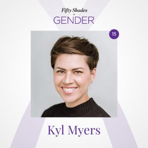 Podcast image with Kyl Myers