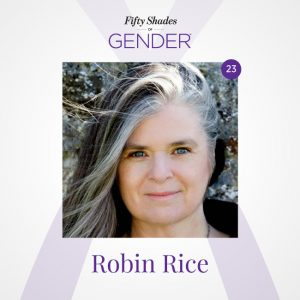 Podcast image with Robin Rice