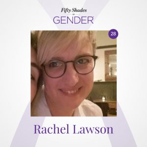 Podcast image with Rachel Lawson