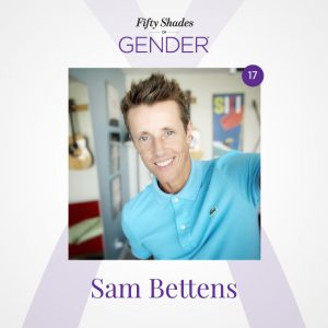 Podcast image with Sam Bettens