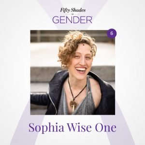 Podcast image with Sophia Wise One