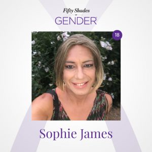 Podcast image with Sophie James