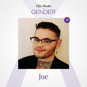 Podcast image with Joe
