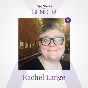 Podcast image with Rachel Lange