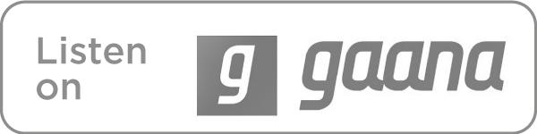 Listen on Gaana icon in grey