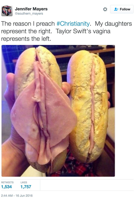 The ham sandwich meme