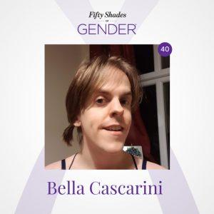 Podcast image with Bella Cascarini