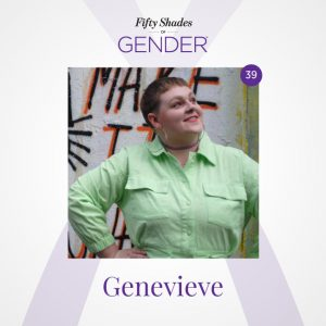 Podcast image with Genevieve