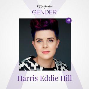 Podcast image with Harris Eddie Hill (photo credit: Angela Geldenhuys)