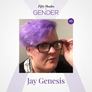 Podcast image with Jay Genesis