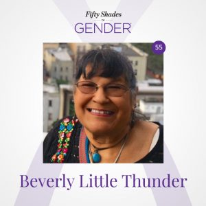 Podcast image with Beverly Little Thunder