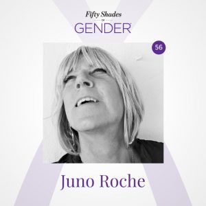 Podcast image with Juno Roche