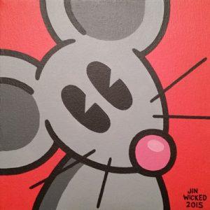Happy Happy Rat cartoon by Jin Wicked